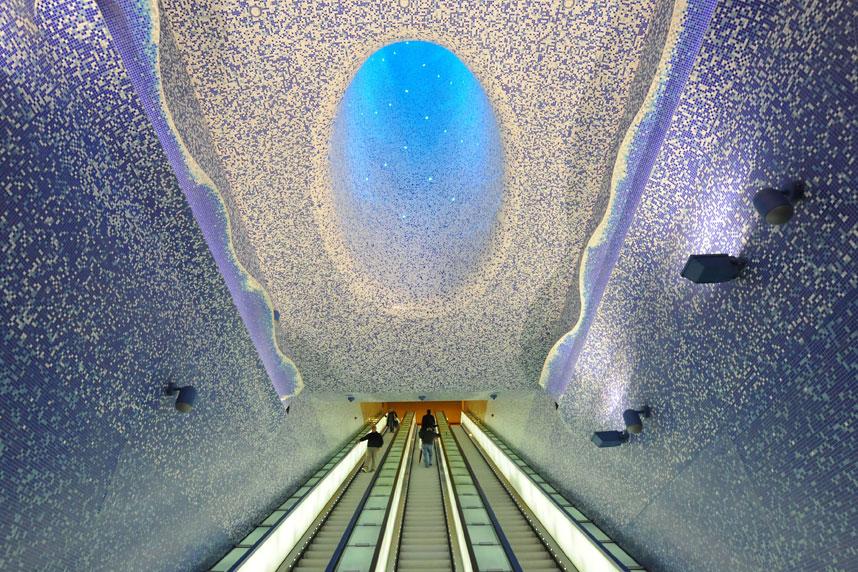 Aceste statii de metrou te vor lasa fara suflare. Merita vazute!