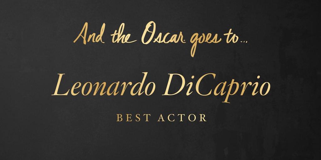 CASTIGATOARE OSCAR 2016 Cel mai bun actor în rol principal - LEONARDO DICAPRIO