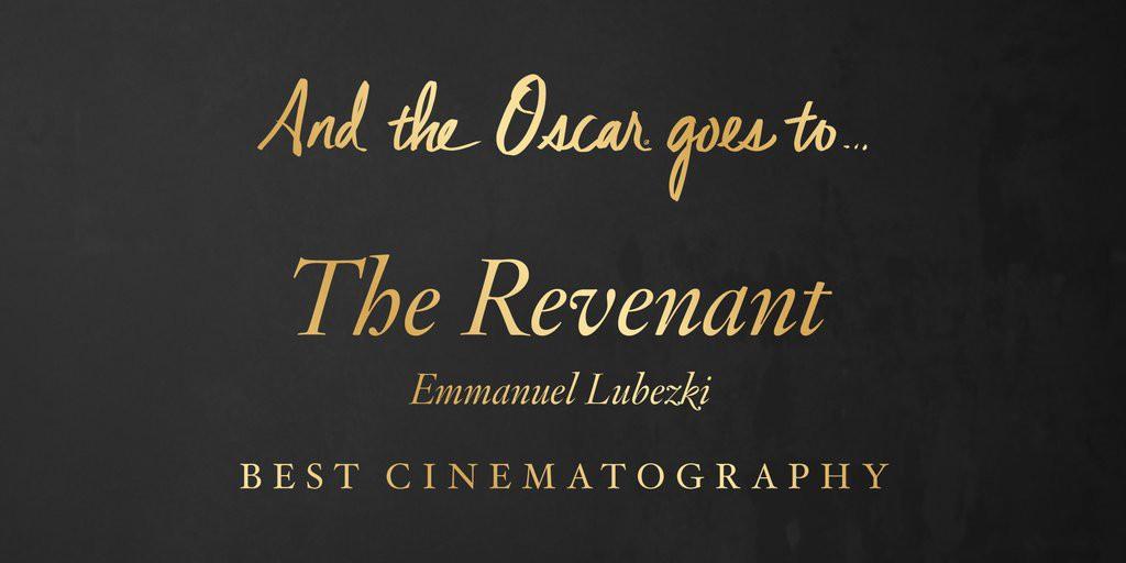 """Cea mai bună imagine – """"The Revenant"""""""