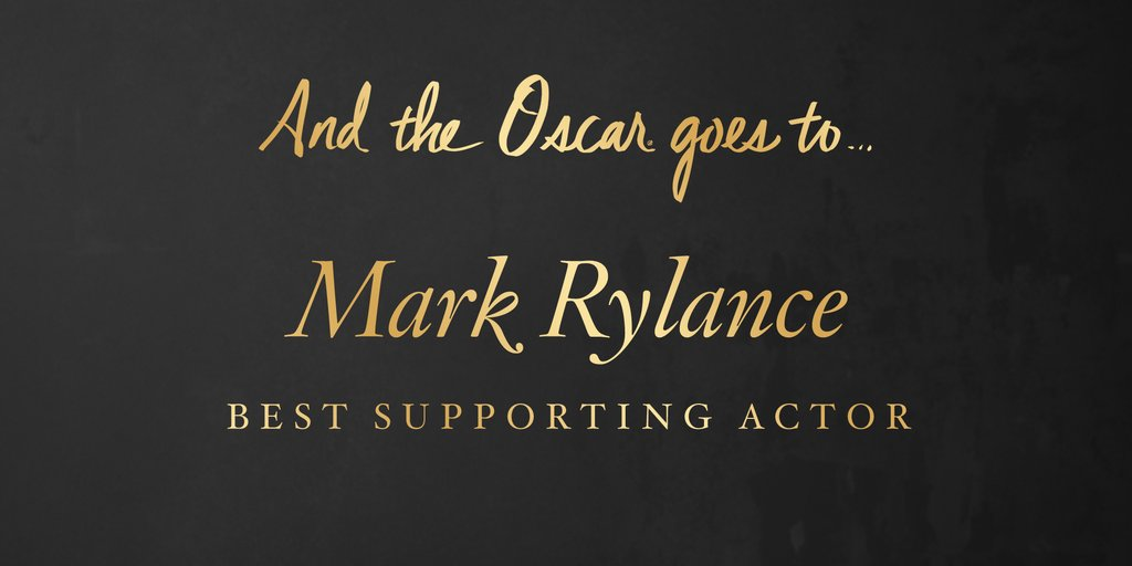 Cel mai bun actor intr-un rol secundar –Mark Rylance