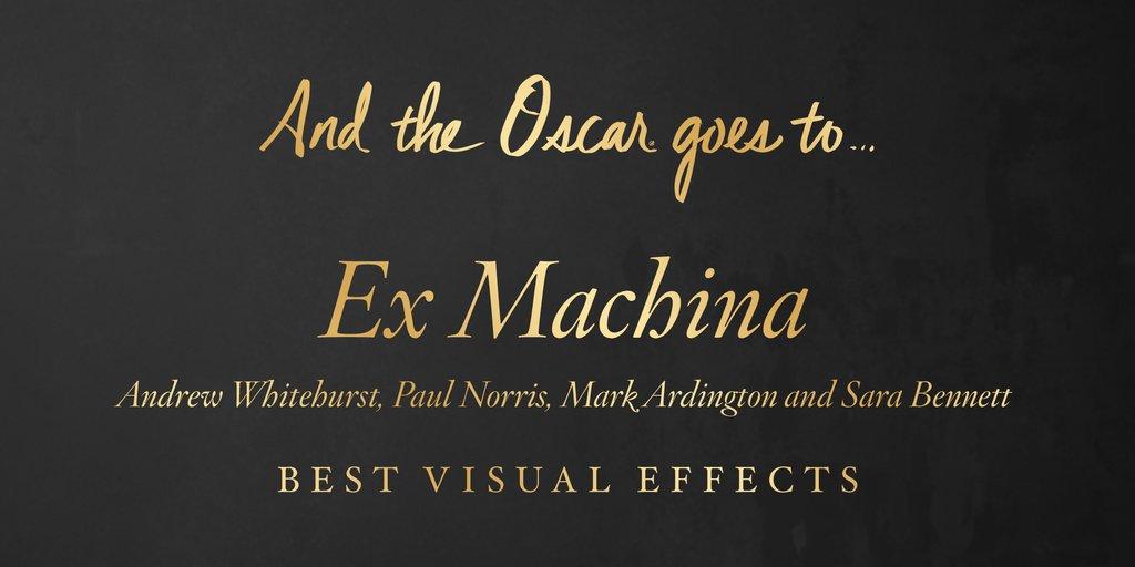 Cele mai bune efecte vizuale – Ex Machina