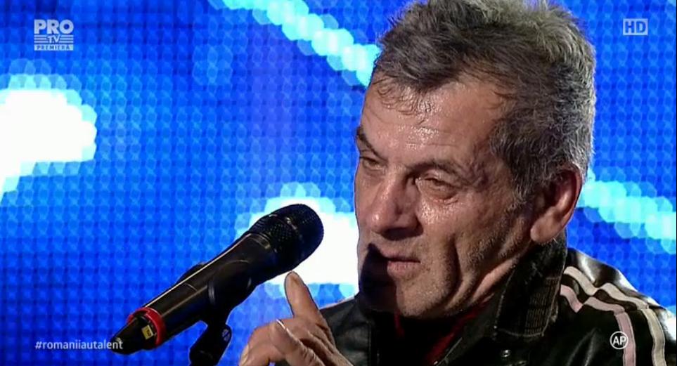 ROMANII AU TALENT: Ilie Gicu a venit din Centrul Vechi