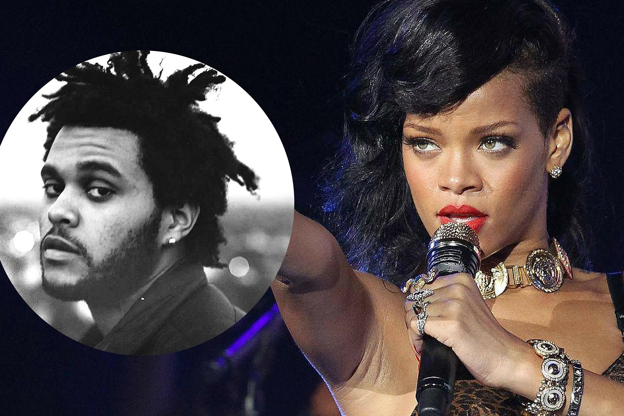 Rihanna si The Weeknd, concert in Romania