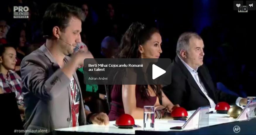 Romanii au talent: Berti Mihai Cojocarelu