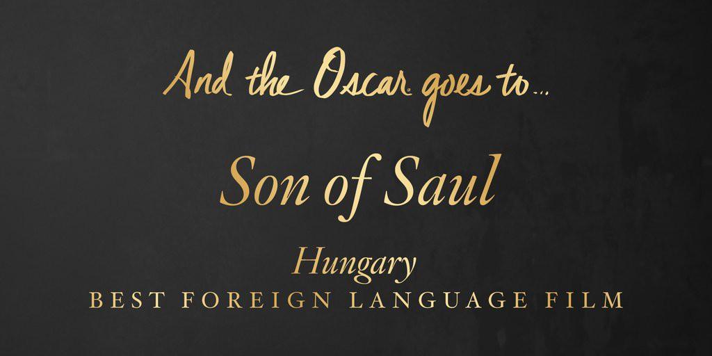 """Cel mai bun film intr-o limba straina – """"Son of Saul"""" (Ungaria)"""