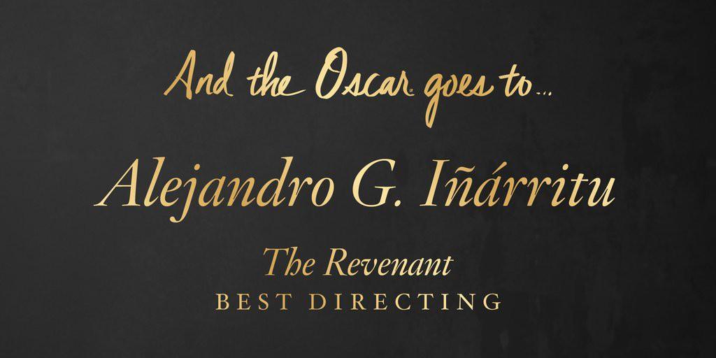 castigator oscar 2016 cel mai bun regizor - Alejandro G Inarritu – The Revenant