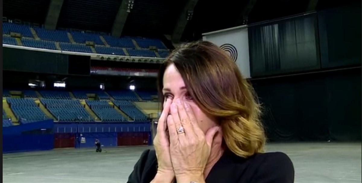 Nadia Comaneci a avut parte de o surpriza emotionanta la Montreal, locul unde a reusit primul 10 din istoria gimnasticii.