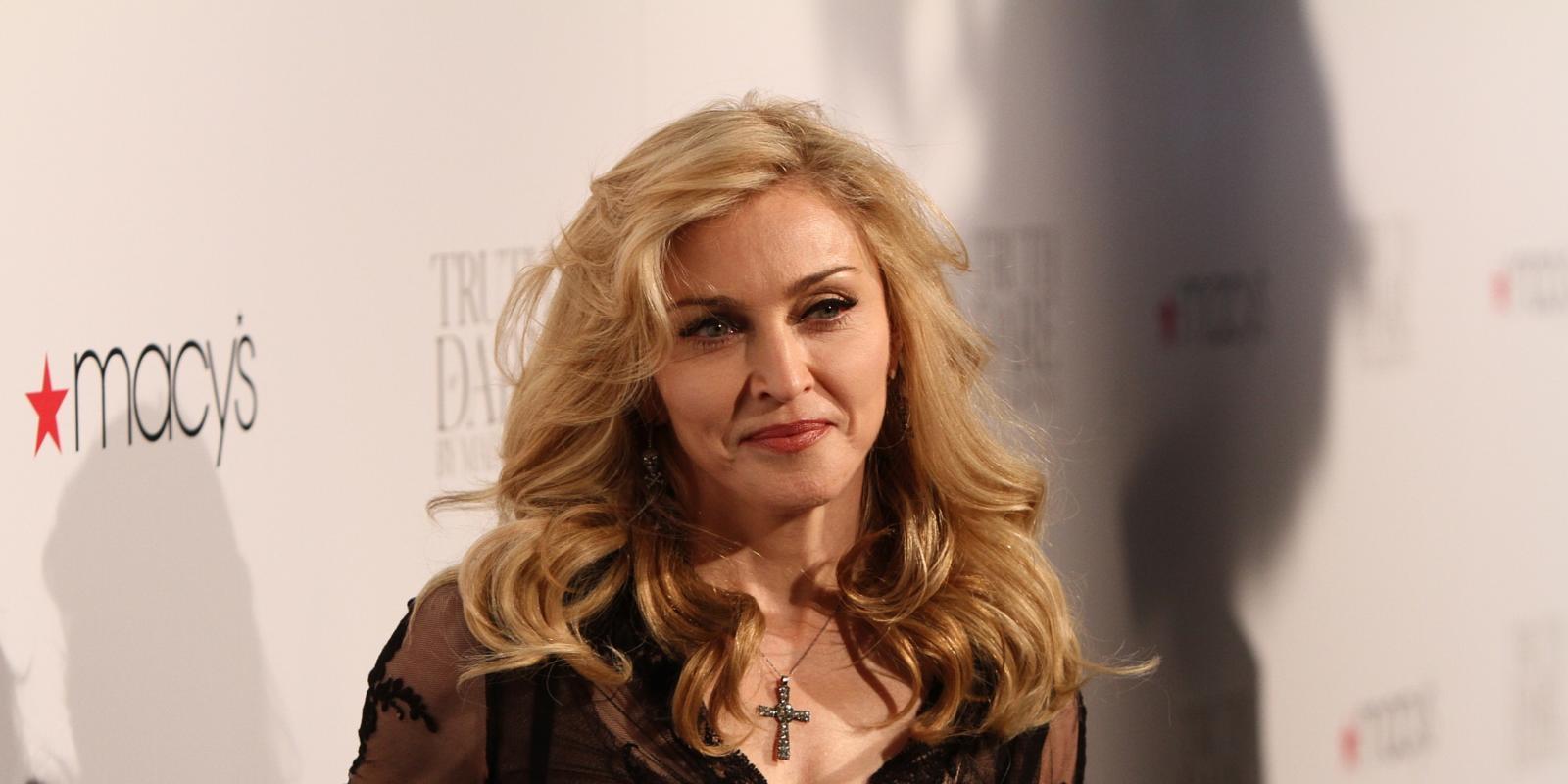 Madonna a plans pe scena, dupa ce a pierdut custodia baiatului ei