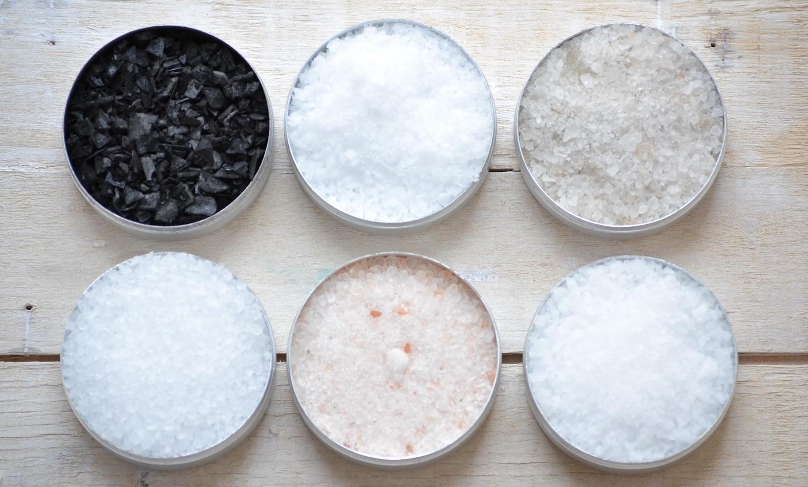 Care sunt tipurile de sare pe care toata lumea trebuie sa le consume