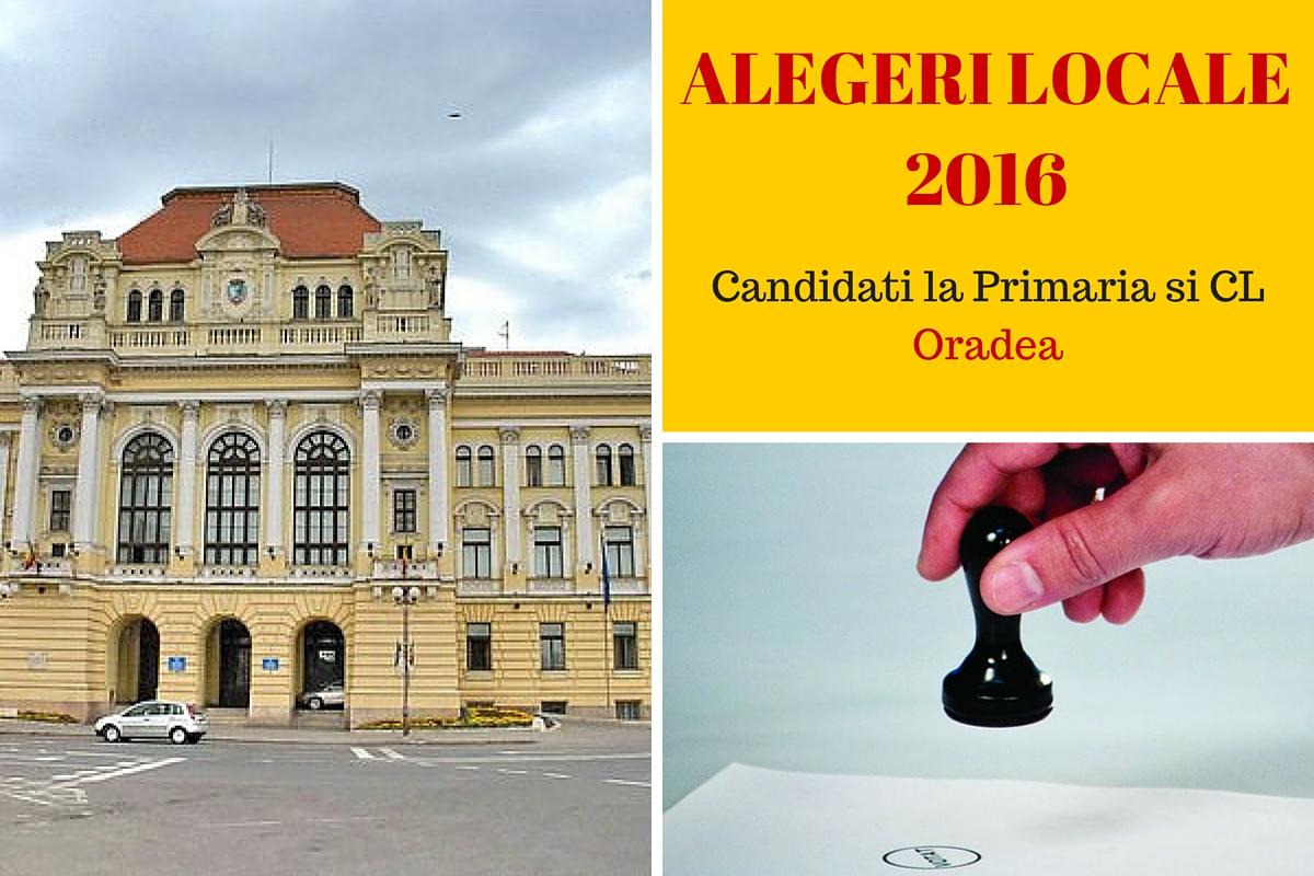 Alegerile locale din 2016 au loc pe 5 iunie, iar cetatenii municipiului Oradea sunt chemati la vot pentru a-si alege primarul. Iata cine sunt candidatii!