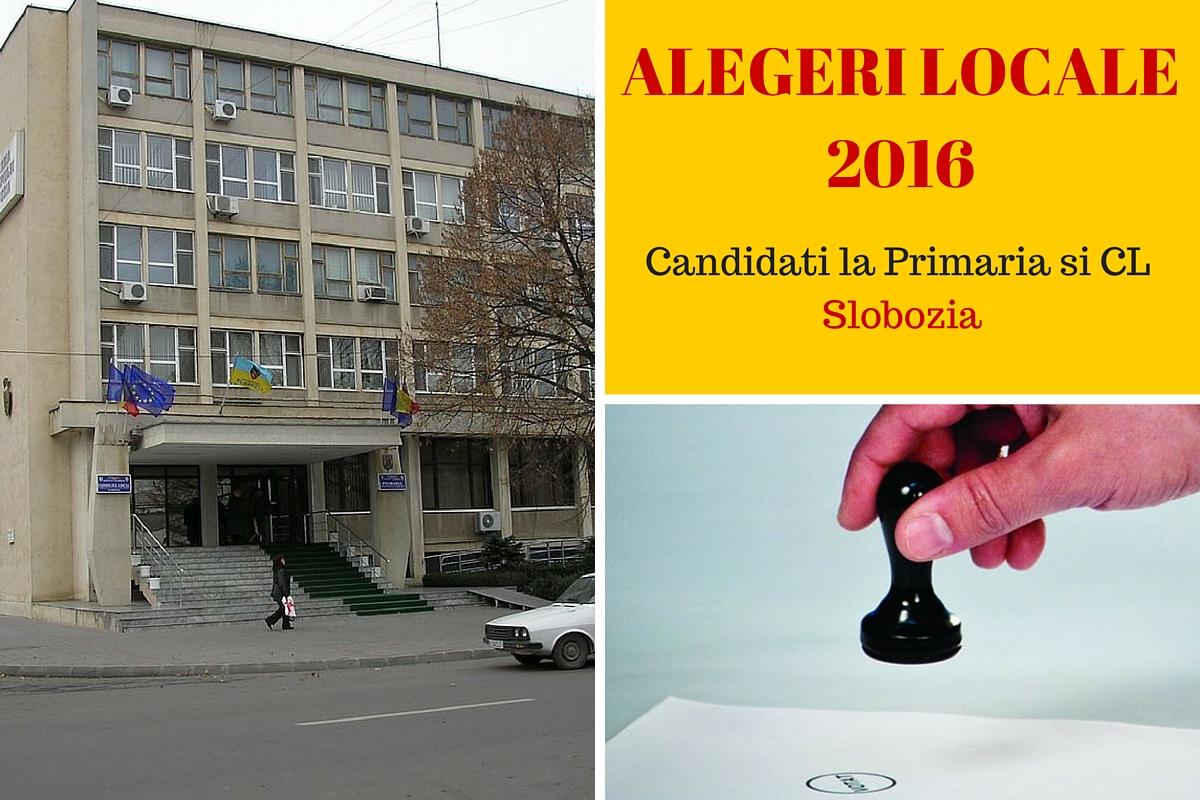 Candidati la Primaria Slobozia la alegerile locale din 2016. Cine candideaza pentru postul de primar si pentru Consiliul Local.