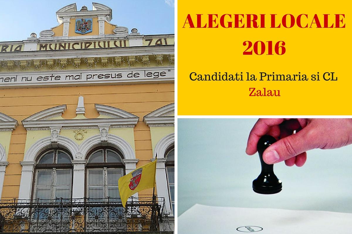 Candidati la Primaria Zalau la alegerile locale din 2016. Cine candideaza pentru postul de primar si pentru Consiliul Local.