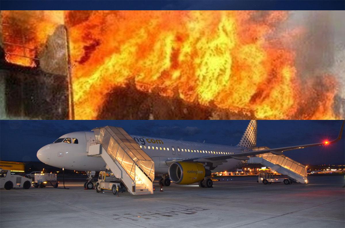 BREAKING NEWS: FOCARE DE INCENDIU PROVOCAT in CLUJ NAPOCA. Traficul aerian poate fi afectat