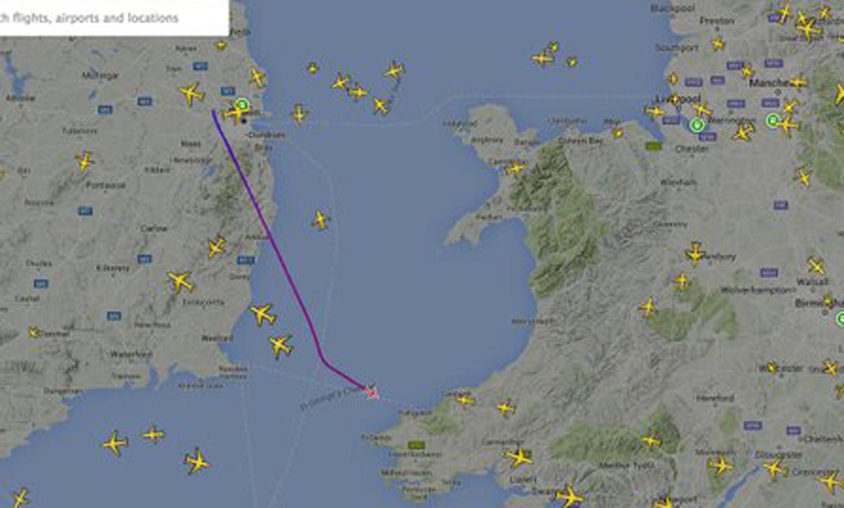 ULTIMA ORA. Incident aviatic pe ruta Dublin-Londra