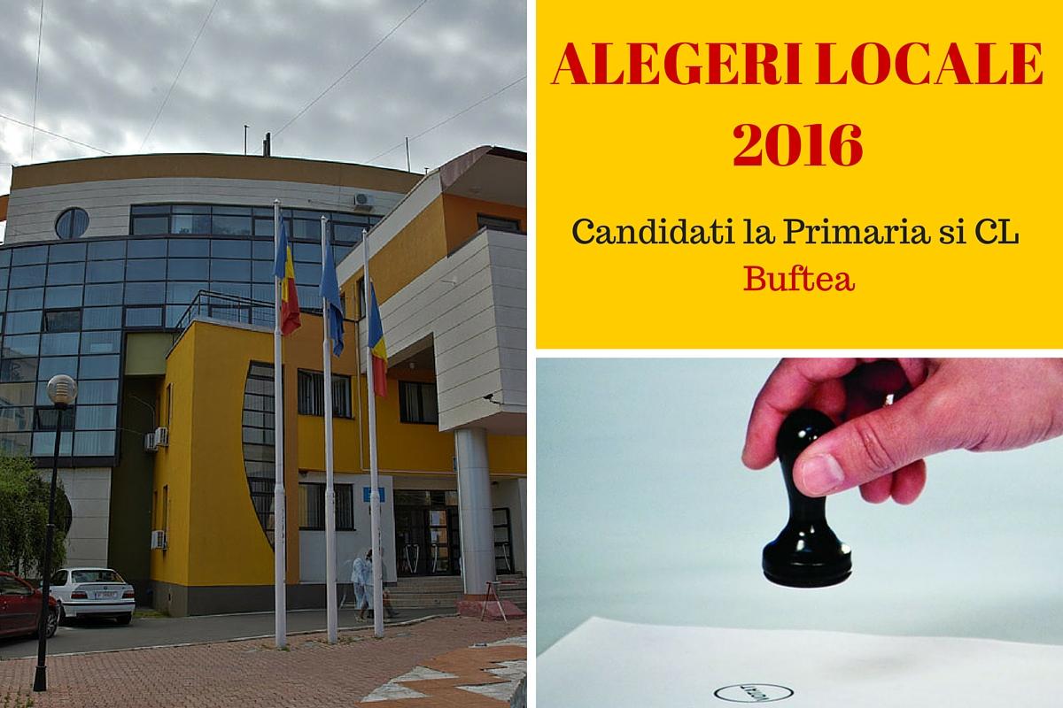 Candidati la Primaria Buftea la alegerile locale din 2016. Cine candideaza pentru postul de primar si pentru Consiliul Local.
