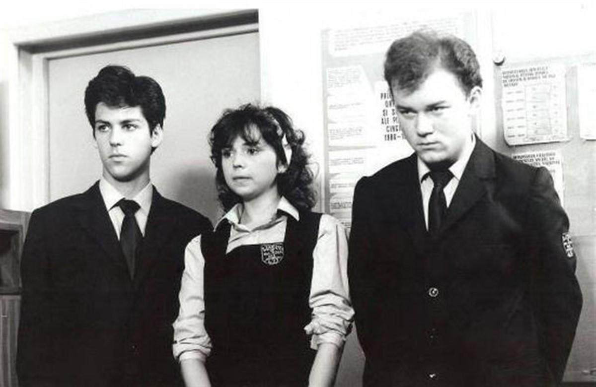 """La 30 de ani de la premiera filmului """"Liceenii"""", Geta si Ionica (Cesonia Popescu si Mihai Constantin) arata total diferit."""