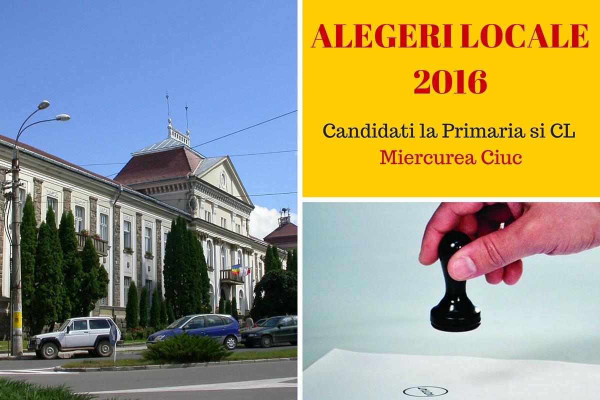 Candidati Primaria Miercurea Ciuc la alegerile locale din 2016. Cine candideaza pentru functia de primar si pentru Consiliul Local.
