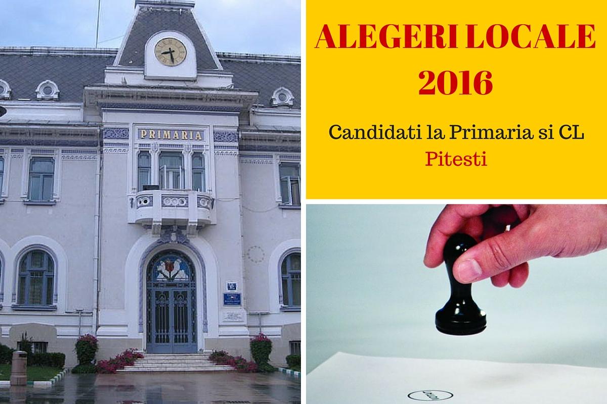Pe 5 iunie au loc alegerile locale 2016, iar cetatenii municipiului Pitesti, sunt chemati la vot pentru a-si alege primarul. Iata cine sunt candidatii!