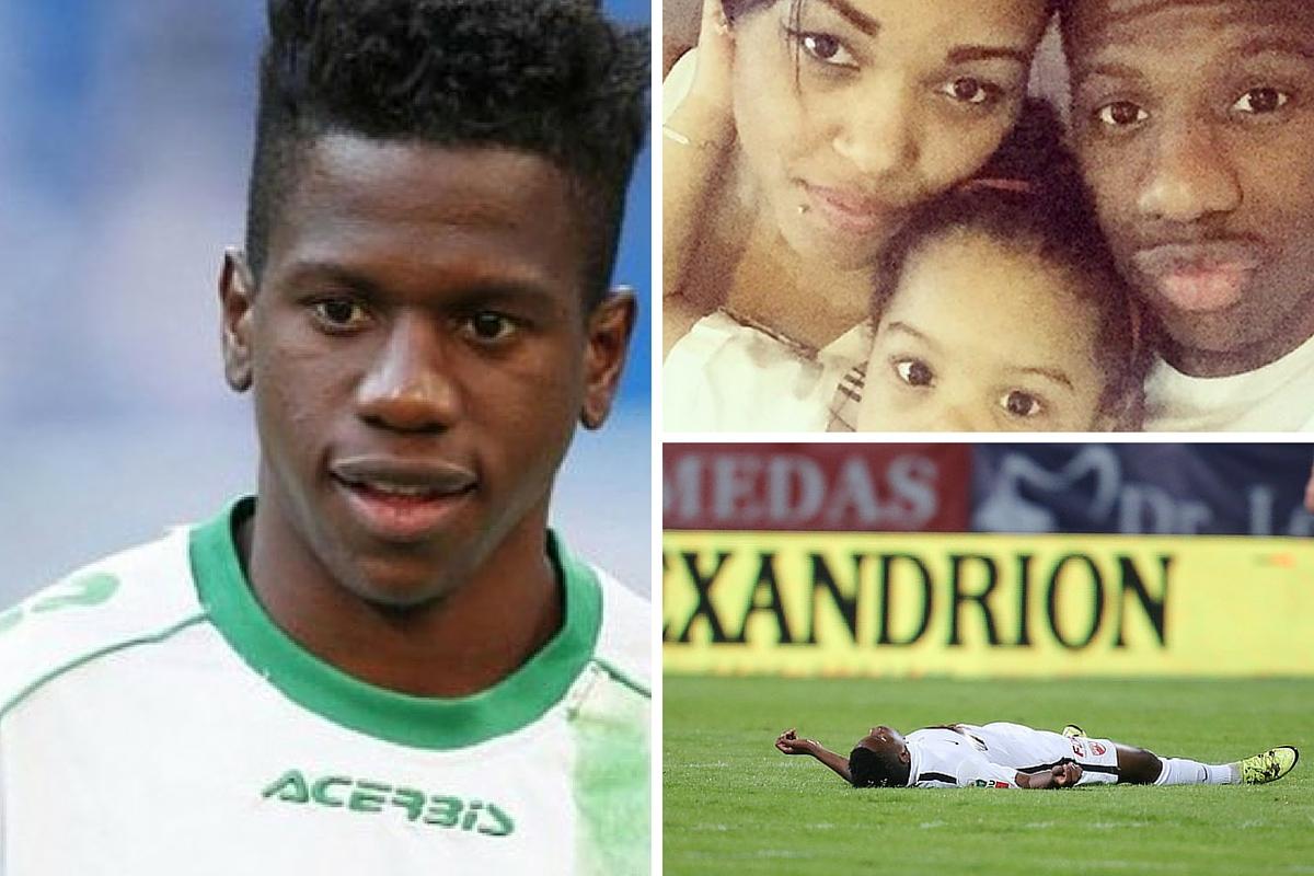 Sotia lui Patrick Ekeng a aflat ca fotbalistul a murit de la un fost jucator al echipei Dinamo. Femeia este insarcinata si mai are o fetita.