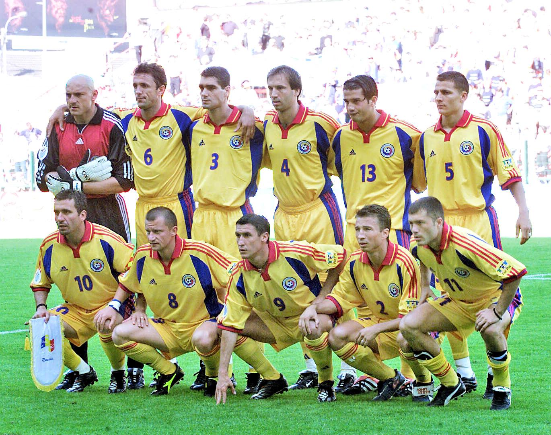 Lotul Romaniei la Euro 2000