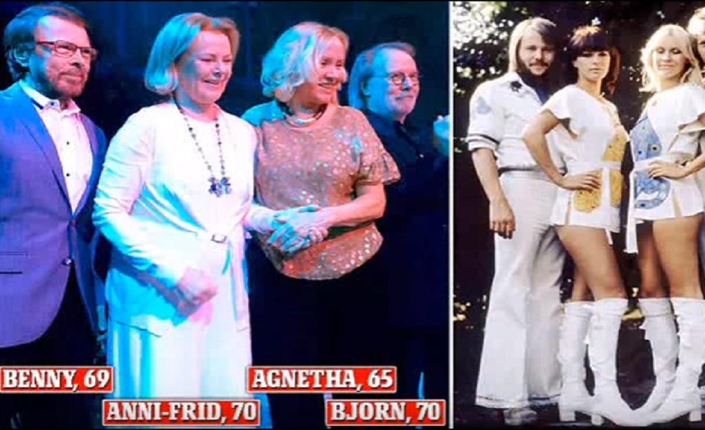 ABBA s-a reunit dupa trei decenii