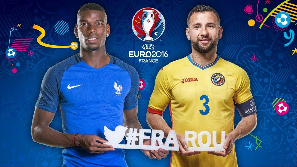 Euro 2016: Franta, mai buna ca Romania. Statisticile spun totul