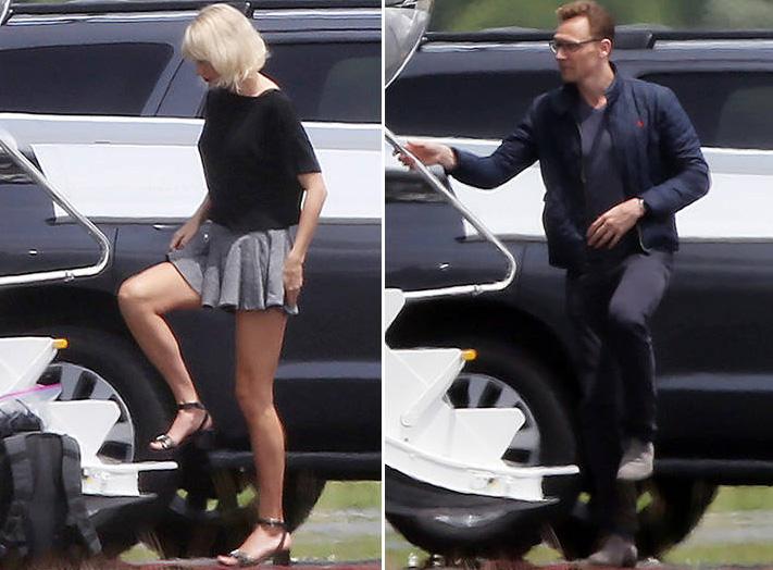 IMAGINI DE SENZATIE cu Taylor Swift si noul ei iubit, Tom Hiddleston-1