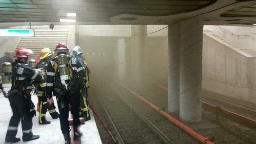 Incendiu la metrou, la Timpuri Noi