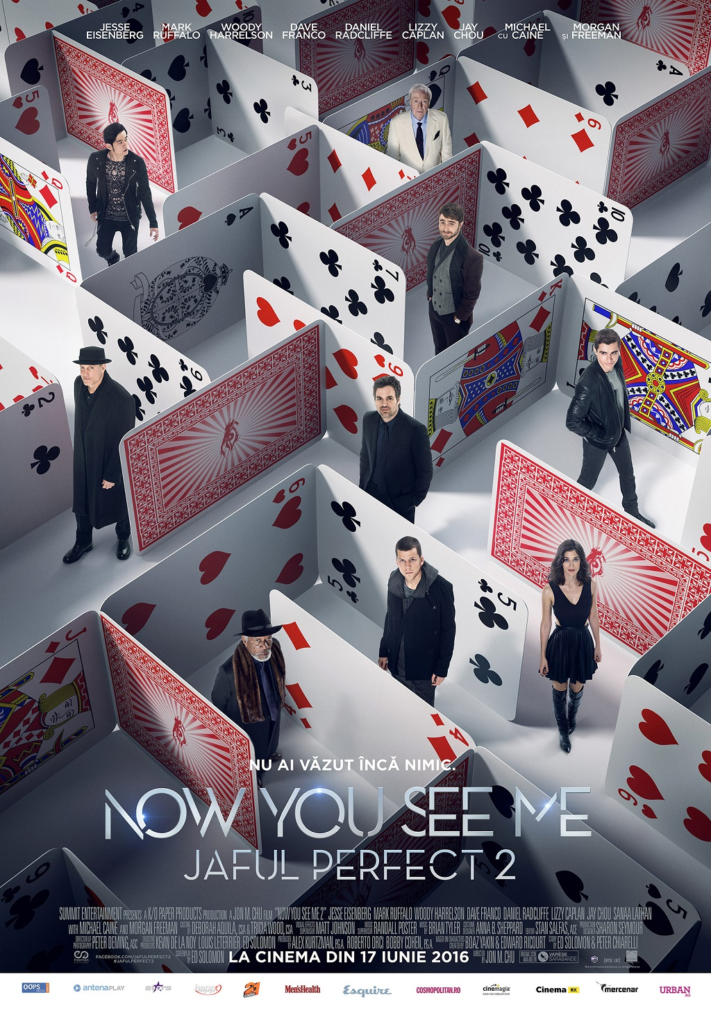 Now You See Me Jaful perfect 2 a cucerit box office-ul romanesc
