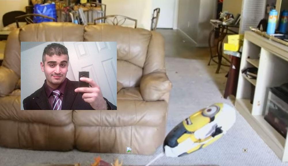 VIDEO - Cum arata casa unui terorist. IMAGINI din locuinta lui Omar Mateen, autorul atentatului din Orlando