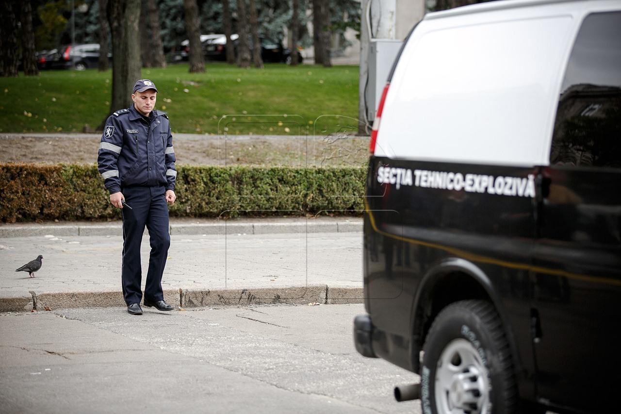 Alerta cu bomba intr-o cladire de birouri din capitala