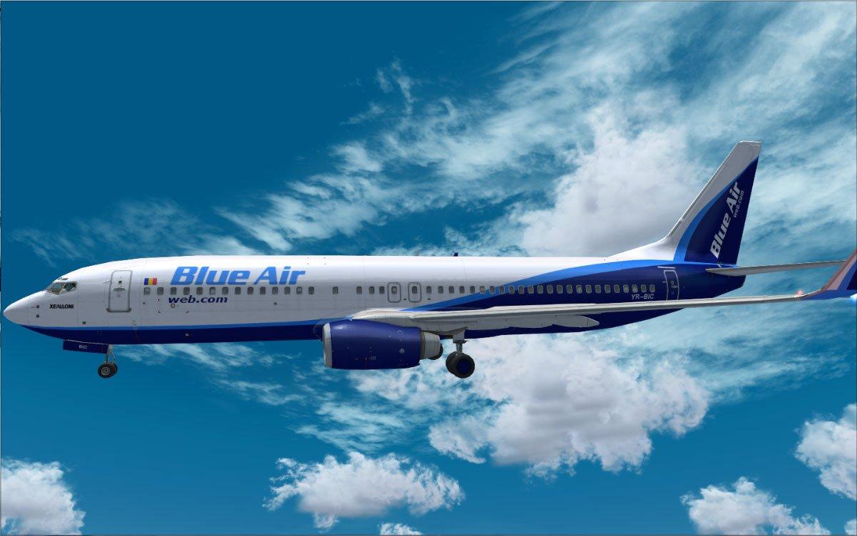 Bilete de avion ieftine Cluj-Napoca - Bucuresti, la Blue Air