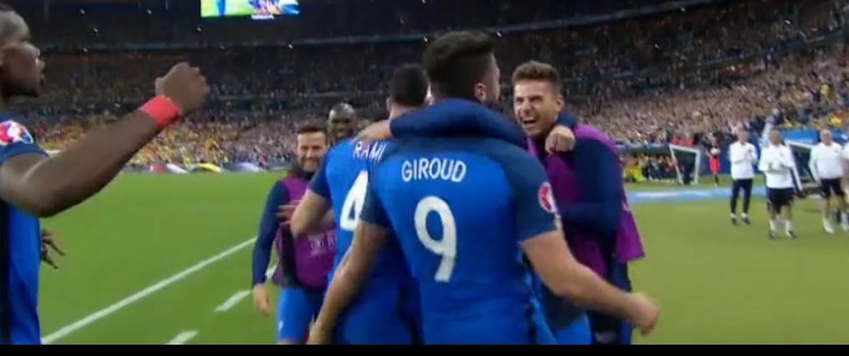 Franta Romania s-a incheiat cu scorul de 2-1. Diferenta a fost facuta de golul lui Payet. Iata rezumatul meciului de la Euor 2016, disputat pe 10 iunie.