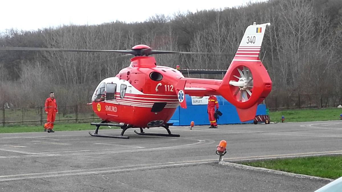 Un elicopter SMURD s-a prabusit in Republica Moldova!