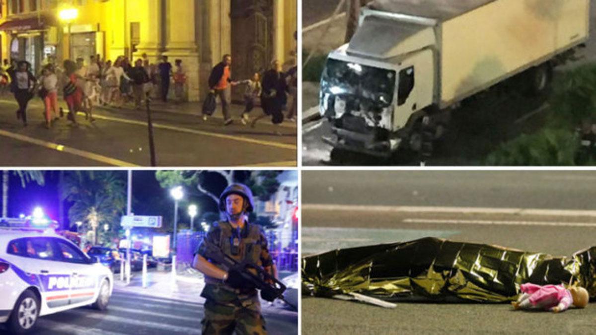 10 copii au murit in atentatul din Nisa. TRASEUL TERORII - FOTO
