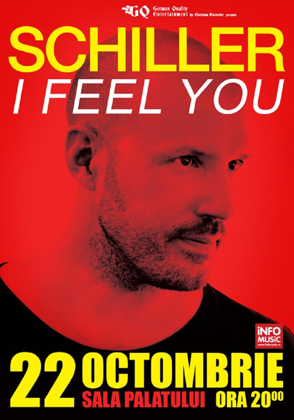DJ Schiller va concerta pentru prima oara in Romania