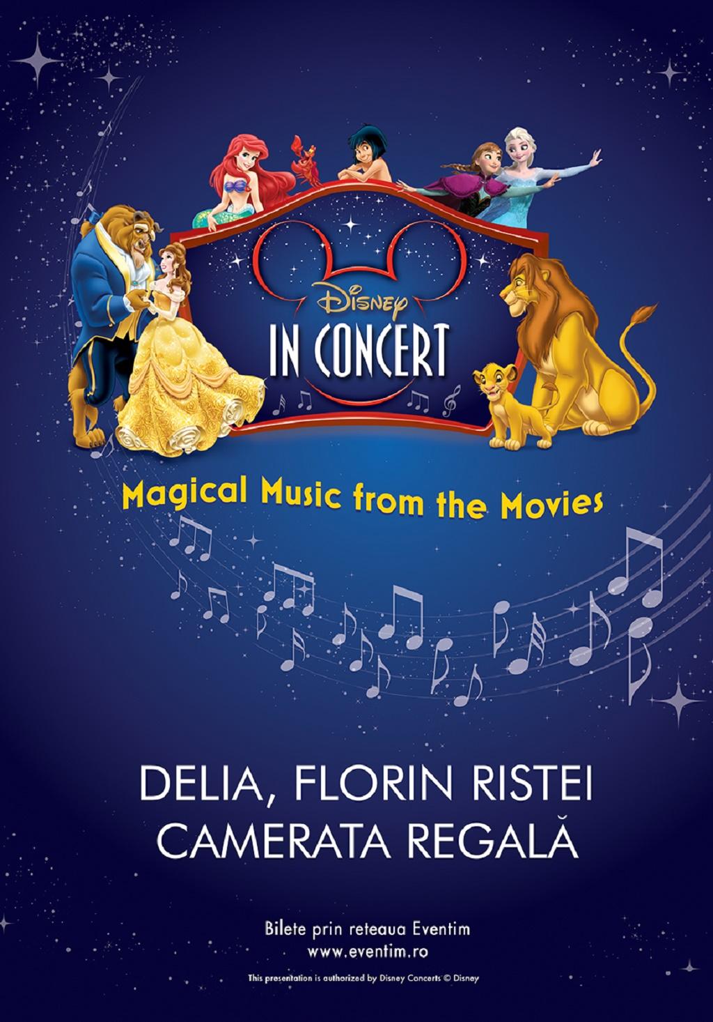Disney Magical Music from the Movies, in premiera la Bucuresti
