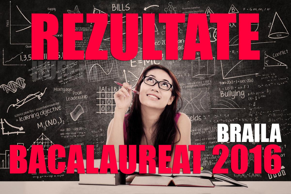 Edu.ro Rezultate Bac 2016 Braila. Note la Bacalaureat