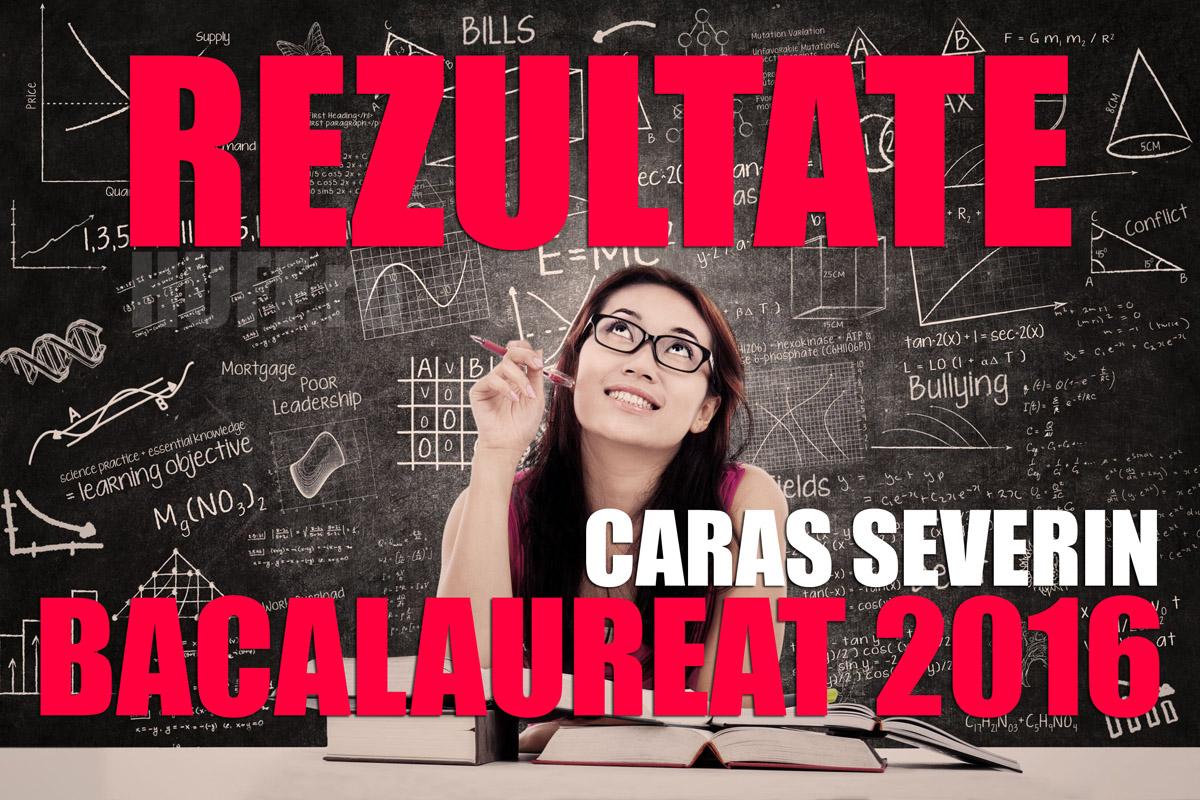 Edu.ro Rezultate Bac 2016 Caras Severin. Note la Bacalaureat