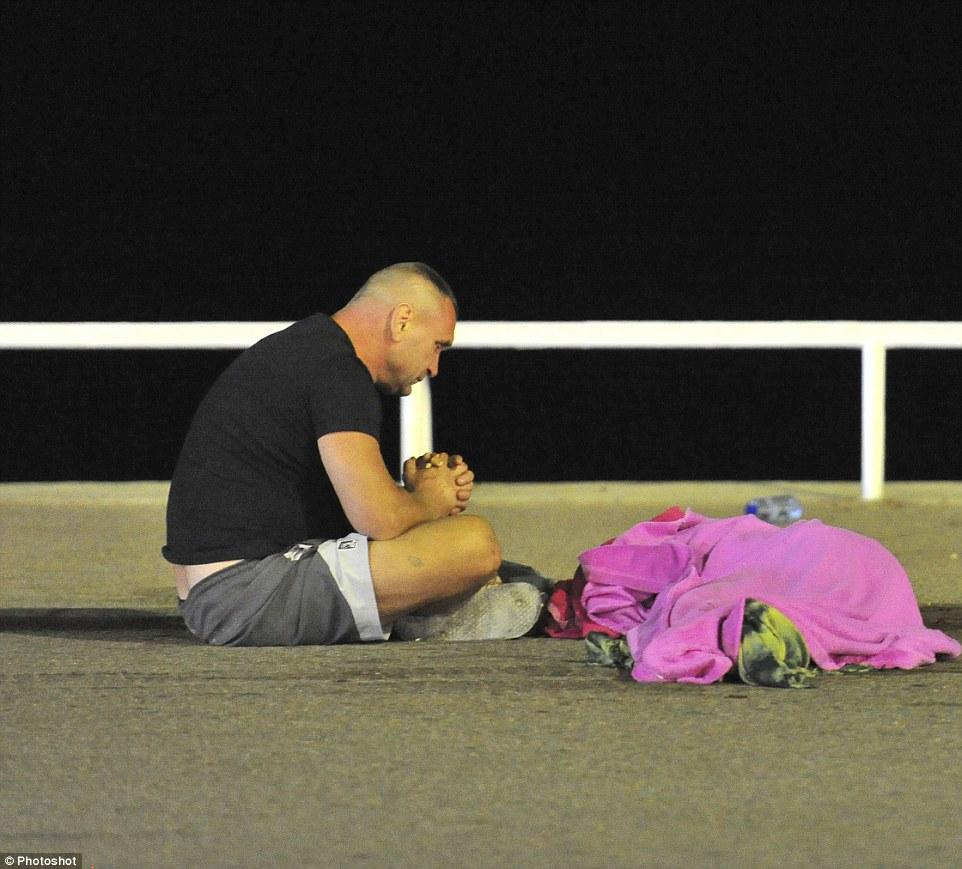 Imagini socante dupa atentatul din Nisa