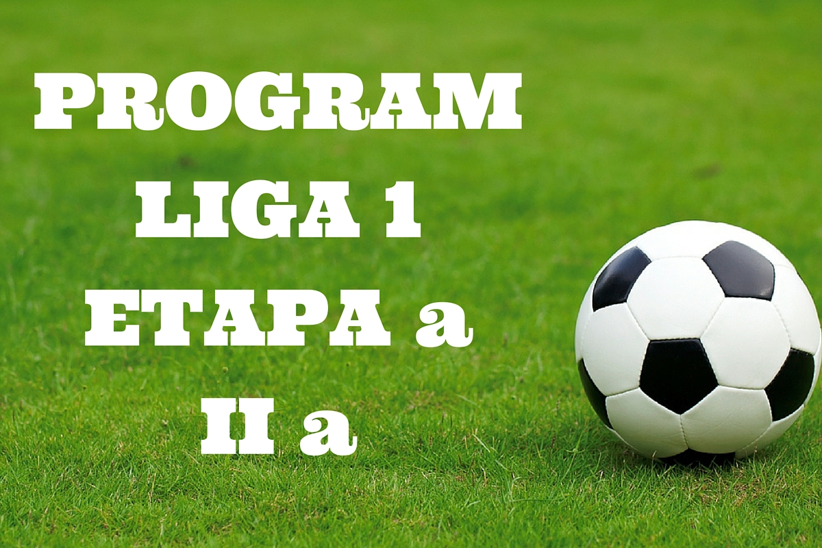 Liga 1, etapa a II a. Programul meciurilor. Cine transmite LIVE la TV partidele de fotbal din etapa secunda a Ligii I.