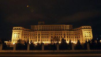 Parlamentul Romaniei a ramas fara curent electric