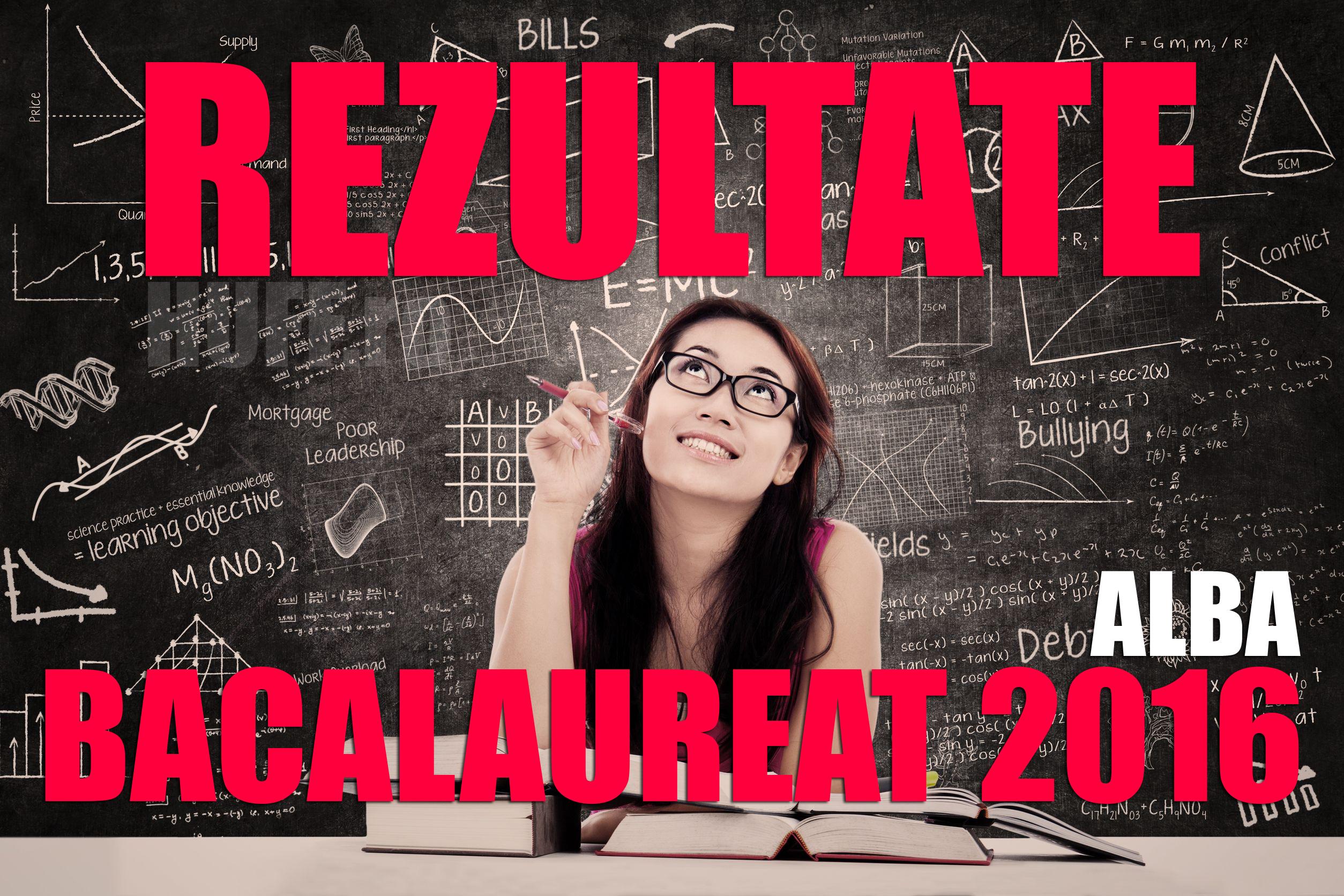 Edu.ro: Rezultate Bac 2016 Alba. Note la Bacalaureat
