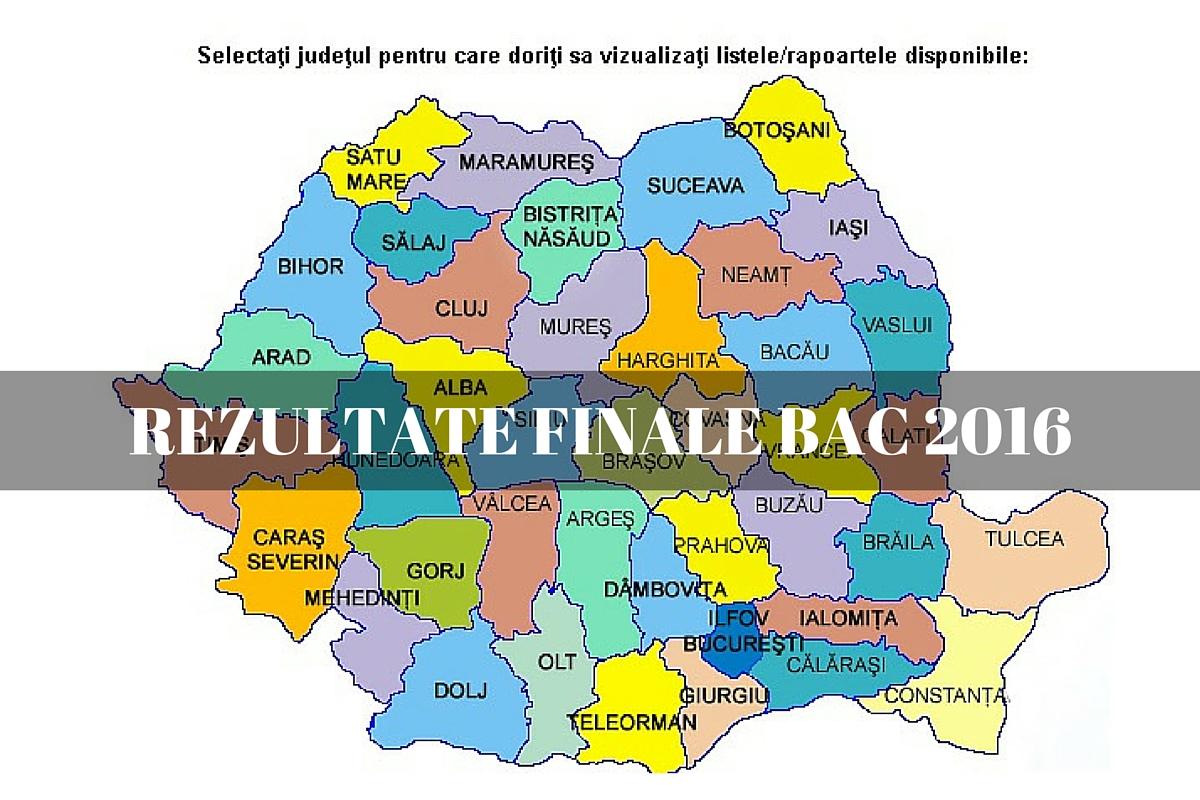 Rezultate finale Bac 2016, pe edu.ro. Ce note au obtinut elevii dupa contestatii, la Bacalaureat 2016, in liceele din toate judetele.