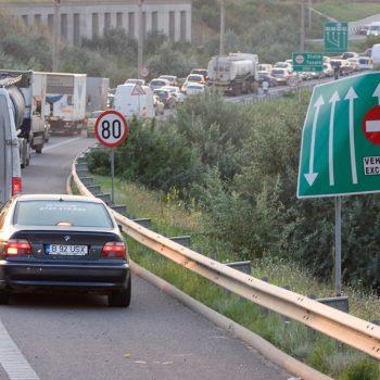 Accident pe Autostrada Soarelui. Traficul este ingreunat