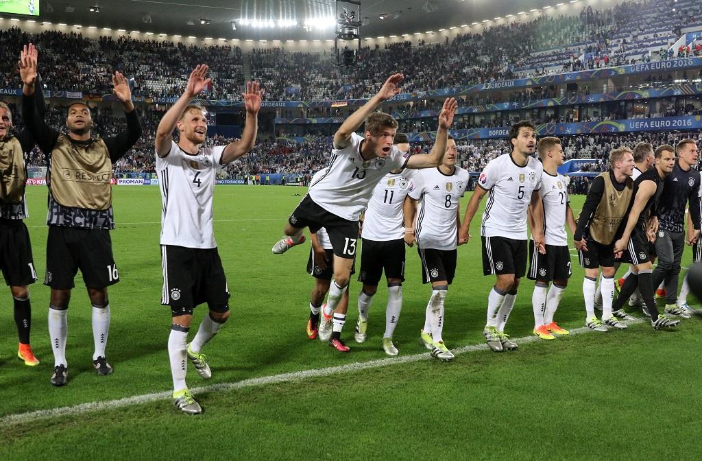 Germania - Franta la EURO 2016