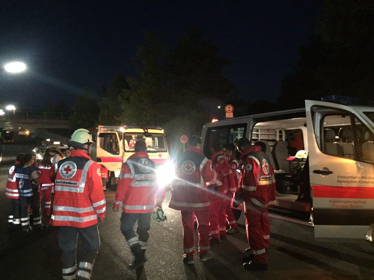ATENTAT in Germania: 18 morti intr-un tren. Autorul a fost impuscat
