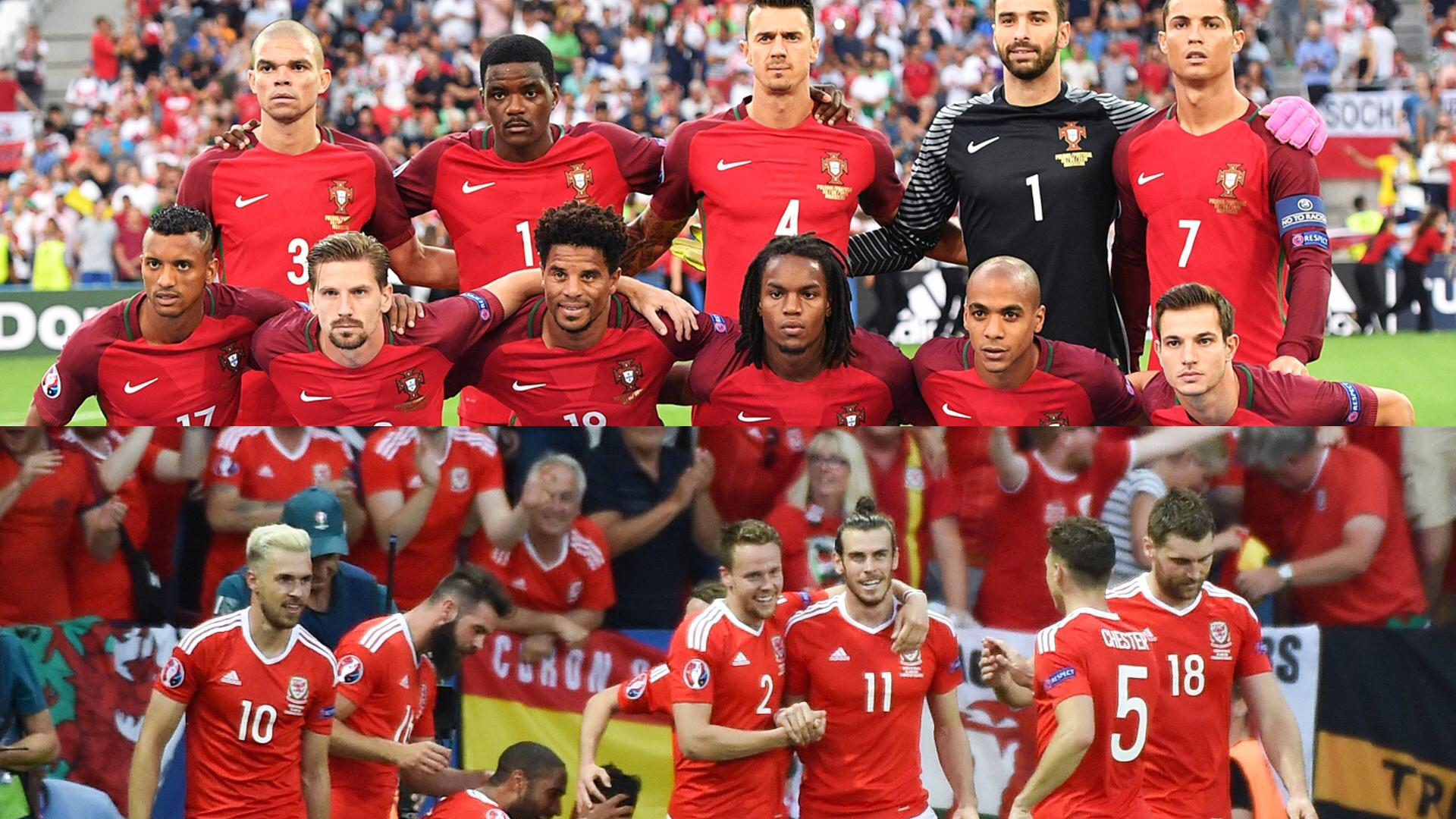 SEMIFINALA Euro 2016: Portugalia - Tara Galilor parcursul echipelor