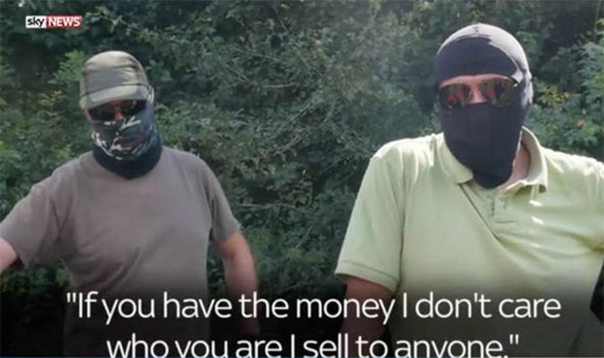 Controverse legate de reportajul Sky News despre traficul de arme din Romania