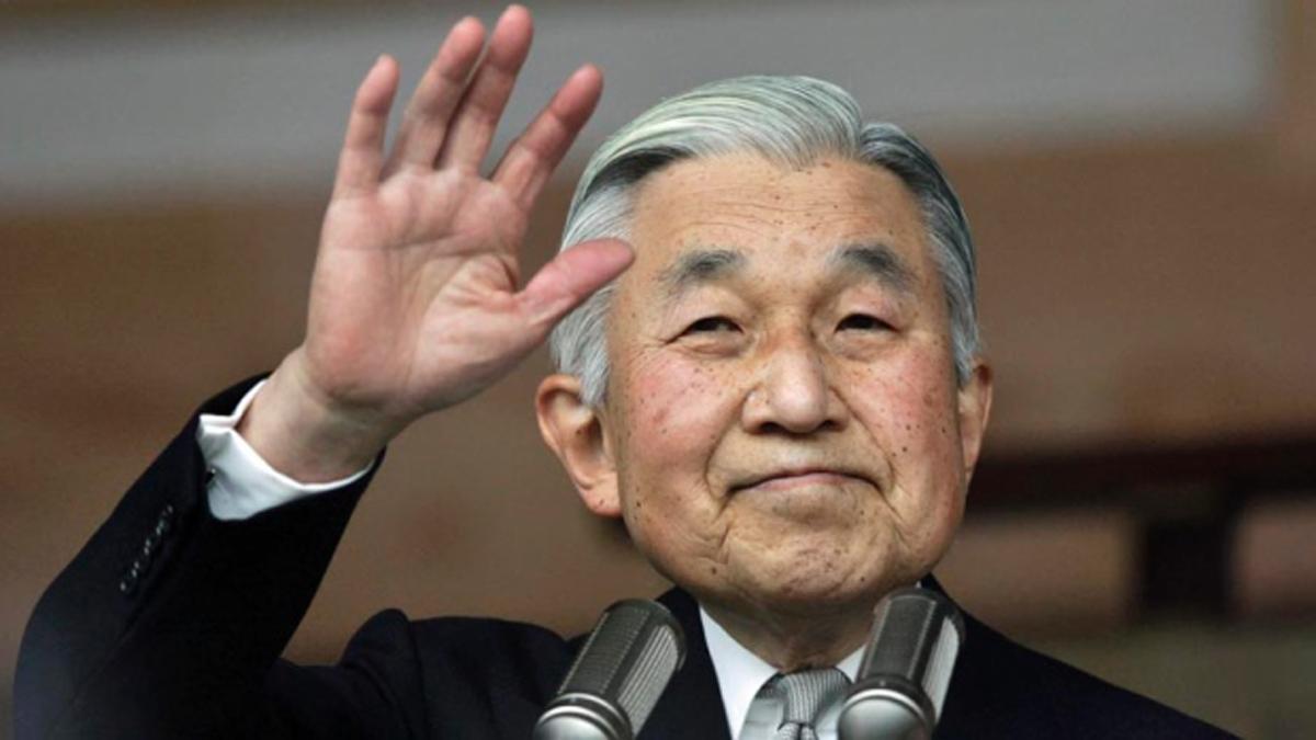 Imparatul Akihito a vorbit despre posibila sa abdicare de la tronul Japoniei